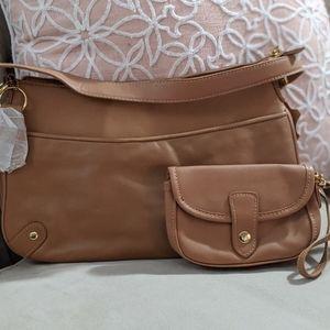 Giani Bernini Handbag with Pouch New